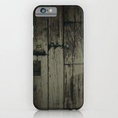 Dark wood iPhone 6s Slim Case