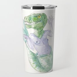 TRACEY T-REX #mermasaur Travel Mug