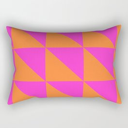 Summer Semaphore Rectangular Pillow