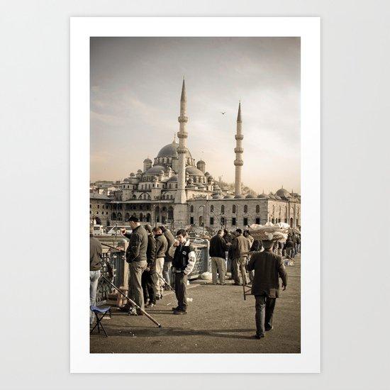 Old Istanbul Art Print