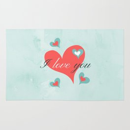 Saint Valentine's Day (I love you) Rug