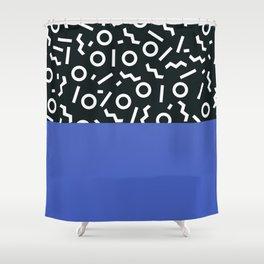 Memphis pattern 49 Shower Curtain