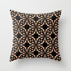 Moroccan IX Throw Pillow