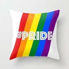 #Pride Throw Pillow