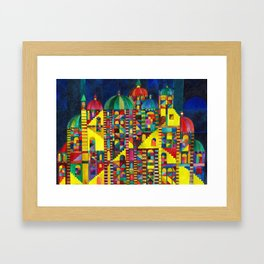 Great Synagogue Framed Art Print