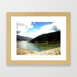 Thompson's Dam Framed Art Print