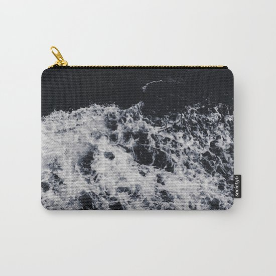 Waves #dark Carry-All Pouch