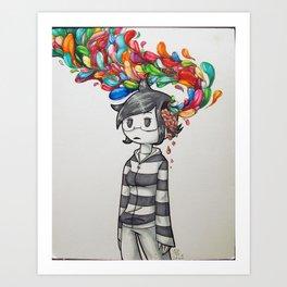 Brain Matter Art Print