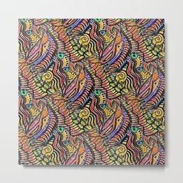 Cornucopia of Zen Color Metal Print