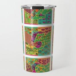 Tiles 1-9 White Travel Mug
