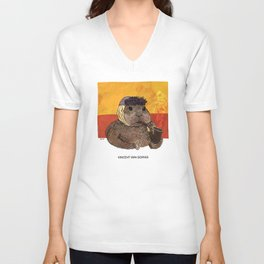 Vincent van Gopher Unisex V-Neck