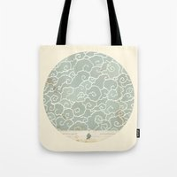 map Tote Bags featuring Map by Tanya Tish