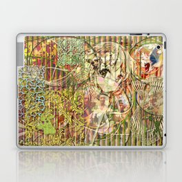 Jeune fille de joie usine (Factory girl joy) Laptop & iPad Skin