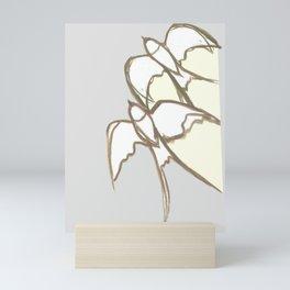 s1 plain Mini Art Print