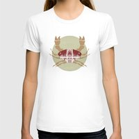 crab T-shirts featuring Crab by tangledribbons