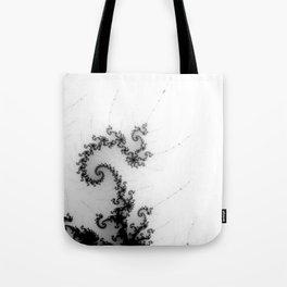 detail on mandelbrot set - pseudopod Tote Bag