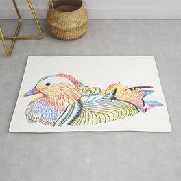wood duck Rug