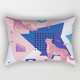 Cheetahs in Memphis I. Rectangular Pillow