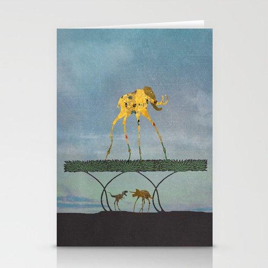 Dalimt Prehistoric Fantasy Stationery Cards