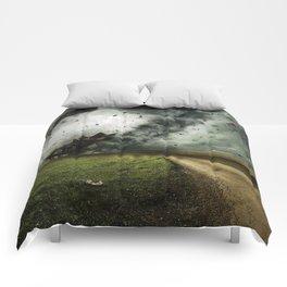 Cyclone-tornado Comforters