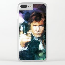 Chewy Solo Clear iPhone Case
