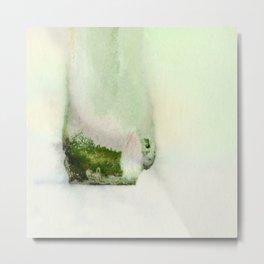 A Serene Life 3C - by Kathy Morton Stanion Metal Print