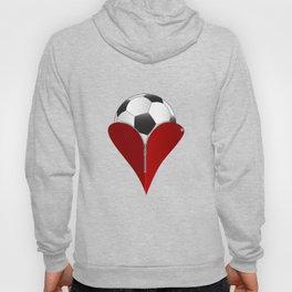 Love Soccer Hoody