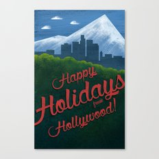 Happy Holidays from Hollywood! Canvas Print
