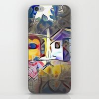 kandinsky iPhone & iPod Skins featuring The Patio. by Detailicious