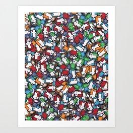 Castle Crashers Insane Art Print