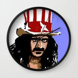 Zappa Wall Clock