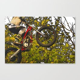 Airtime - Dirt-bike Racer Canvas Print