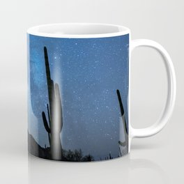 Milky Way, Dreams and Succulents Coffee Mug