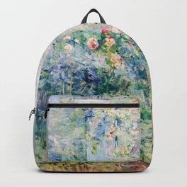 Berthe Morisot - The Garden at Bougival Backpack