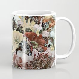 Toony World - floral 4 Coffee Mug