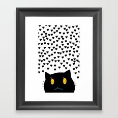 cat-354 Framed Art Print