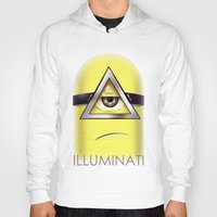 minions Hoodies featuring Minions Illuminati by Vincent Trinidad