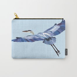Great Blue Heron - illustration Carry-All Pouch