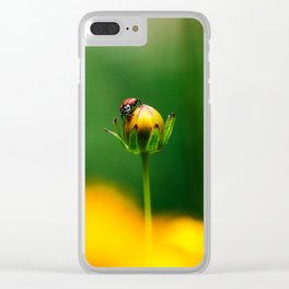 Walking on Fire Clear iPhone Case