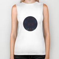 night sky Biker Tanks featuring Night Sky by Suchita Isaac