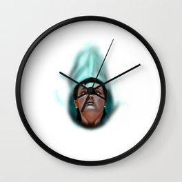 Priestess of the moon Wall Clock