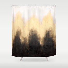 Metallic Abstract Shower Curtain