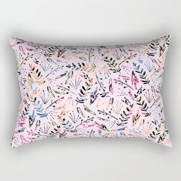 Floral Pop Pattern Rectangular Pillow
