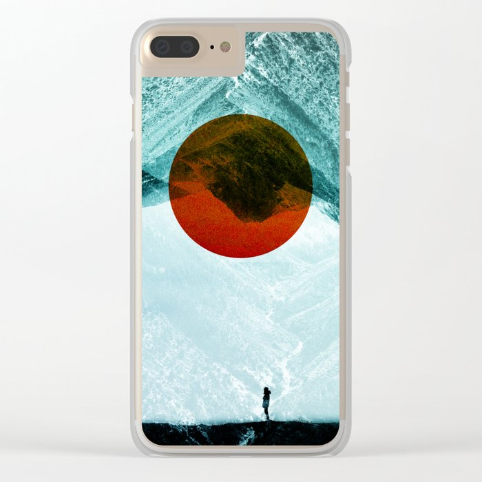 Found in isolation Clear iPhone Case