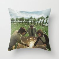 dope Throw Pillows featuring dope by tareco