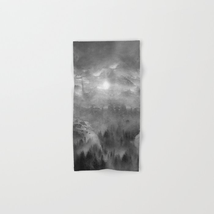 Black and White - Wish You Were Here (Chapter I) Hand & Bath Towel