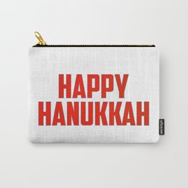 Happy Hanukkah Carry-All Pouch