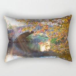 Central Park Morning Rectangular Pillow