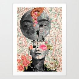 my muse (Frida Kahlo) Art Print