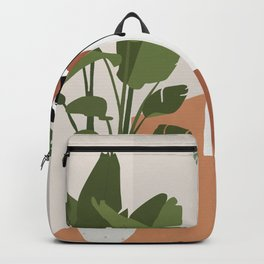 Plant lady and her cat Backpack